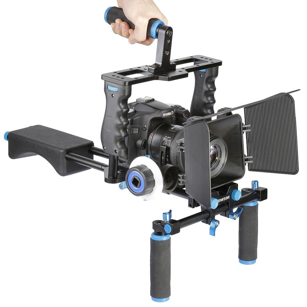 Neewer Aluminum Kit System Rig for Canon Nikon Sony and include