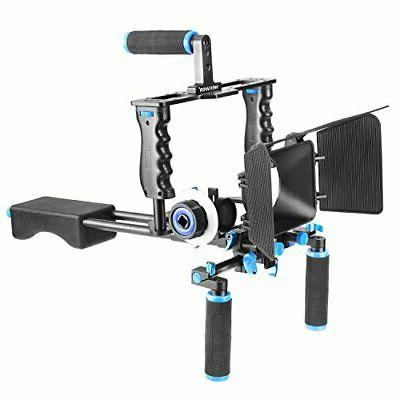 Neewer Aluminum Film Movie Kit System Rig for Canon Nikon Pe