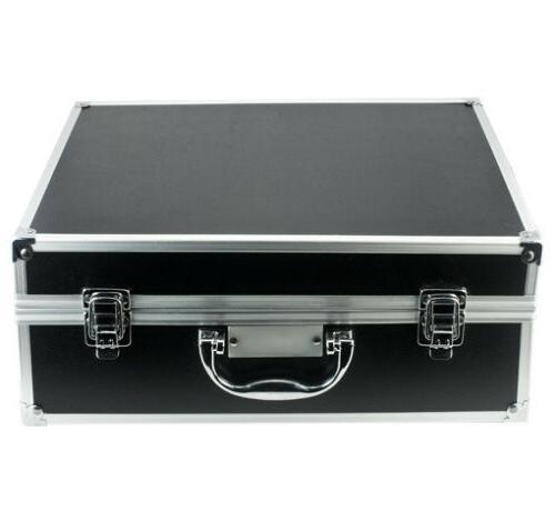 Aluminum Metal Carrying Hard Case 4 Camera