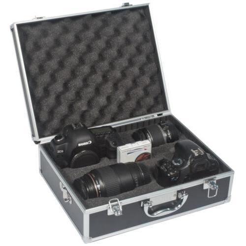 Aluminum Metal Carrying Case Travel 4