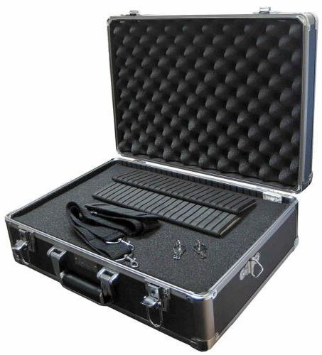 Aluminum Case Briefcase w/Wheels 4