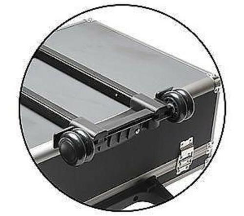 Aluminum Metal Carrying Case Travel Briefcase 4
