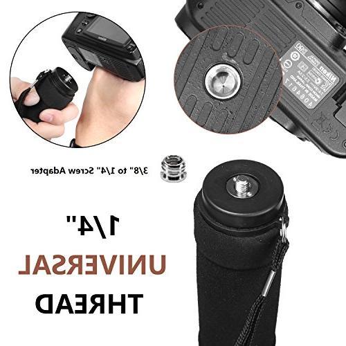WAAO Monopod, Lightweight Trekking Sticks Travel for DSLR Camera Camcorder Video Nikon Canon Sony