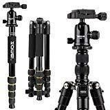 ZOMEI Aluminum Portable Tripod with Ball Head Heavy Duty Lig
