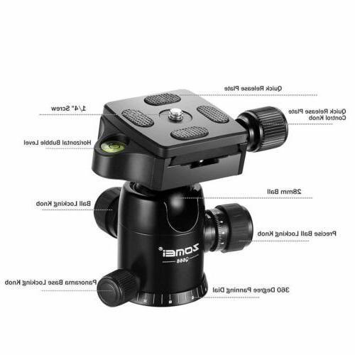 ZOMEI Monopod w/ For DSLR Camera Camcorder Q666