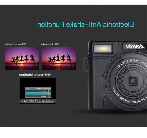 AMKOV HD SLR Camera Lens Battery