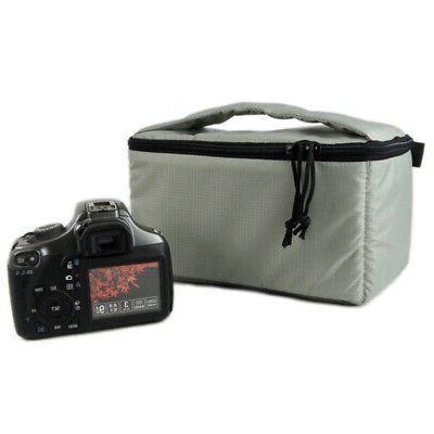 Waterproof Insert Padded Partition Camera Lens Bag