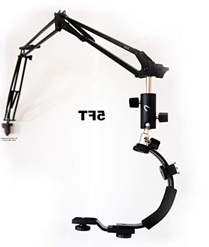 5ft Arm Mount Flexible Desk Clamp Camera Arm Shape Stabilizer 5FT - Desk Crane