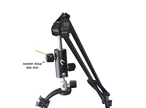 5ft Articulating Mount - Flexible Clamp Arm Mirrorless/Digital Camera's with Shape Stabilizer 5FT Boom Crane