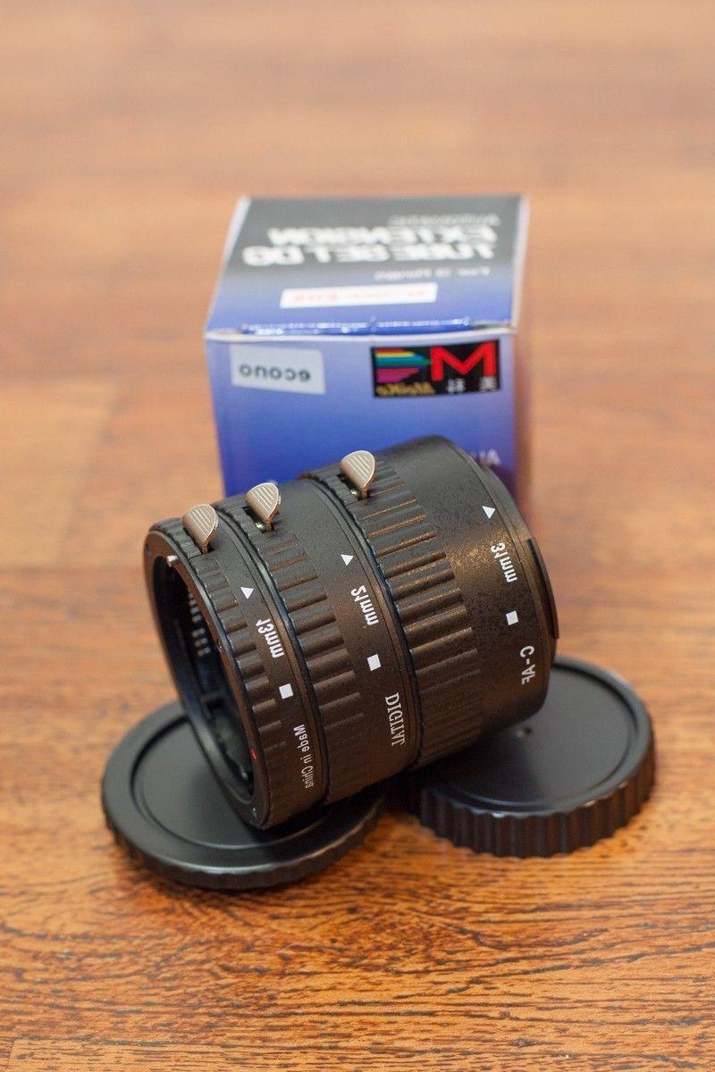 Meike Macro Extension Tube Set for Canon D-SLR Cameras