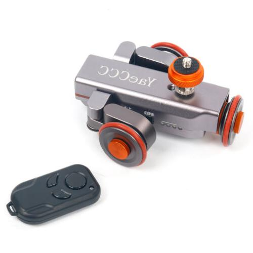 YaeCCC Autodolly Remote Camera Motorized Dolly Electric Track