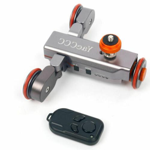 autodolly wireless remote motorized dolly