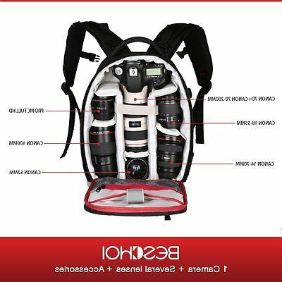Camera Backpack Bag for / DSLR