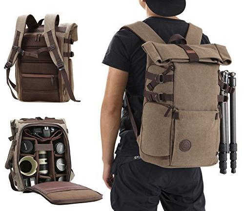 Camera Backpack Waterproof for Lens Accessories Belt and for