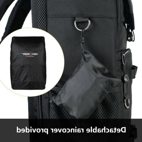 Camera Backpack Case for Canon Nikon DSLR SLR K&F Concept
