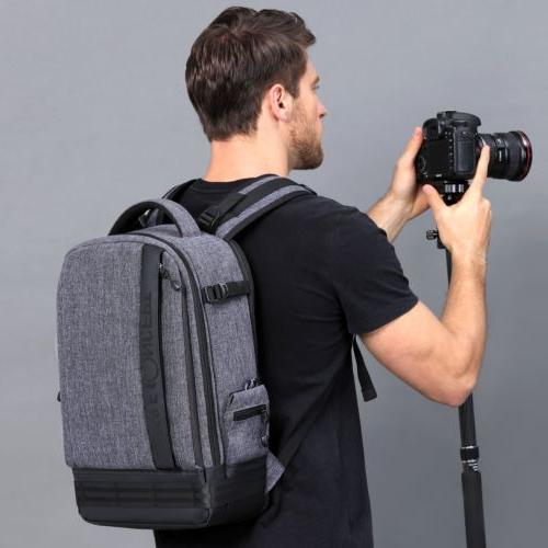 Large Camera Backpack Case Canon Sony DSLR Concept