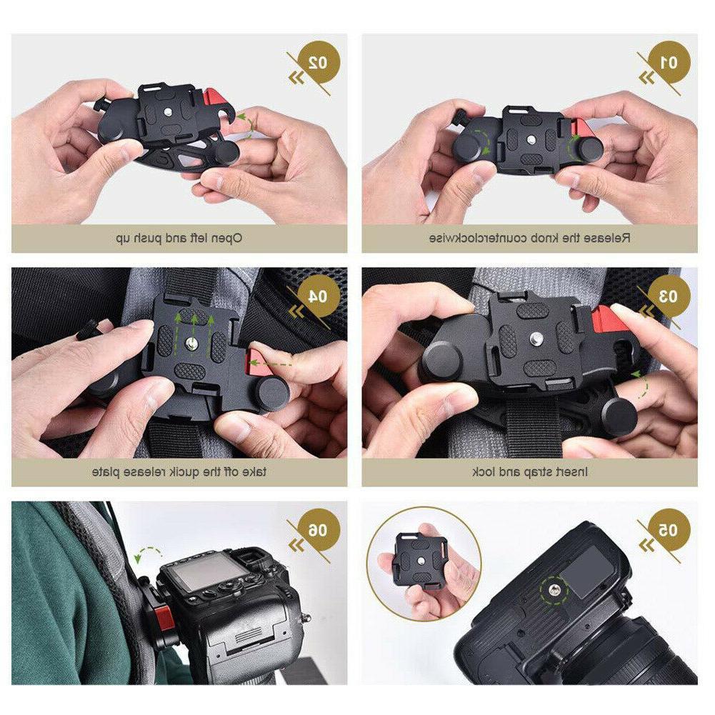 Backpack Quick Release DSLR Strap Holder