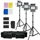 Julius Studio 3x 216 Barndoor Continuous LED Video Lighting