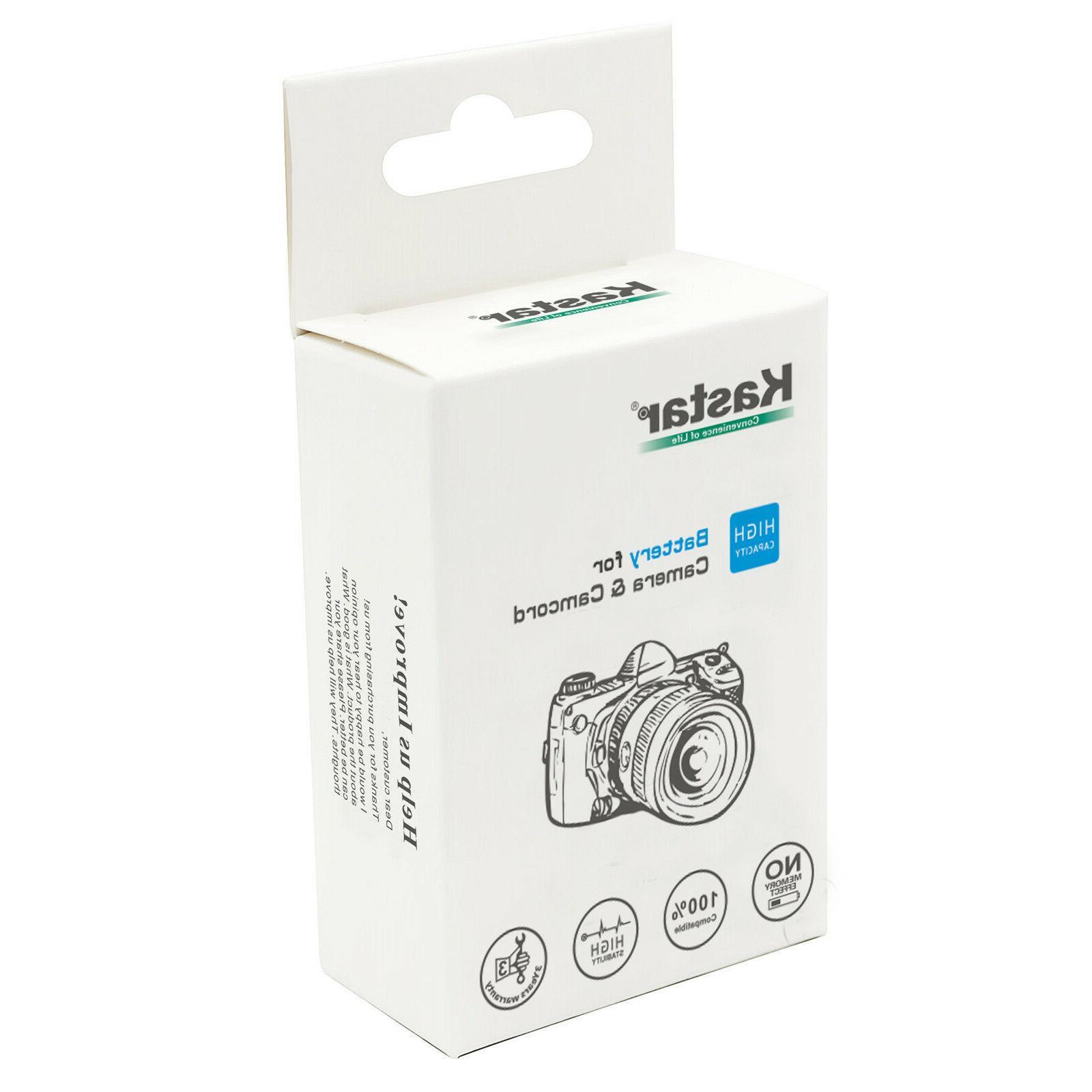 Kastar for & D3100 DSLR Camera