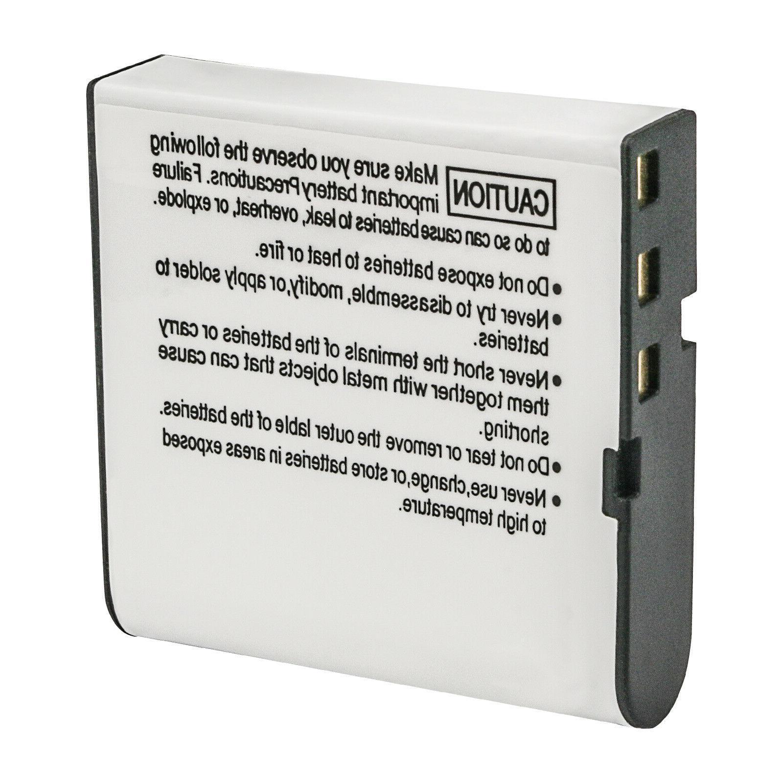 Kastar Battery for Casio Casio EX-Z1200 Camera