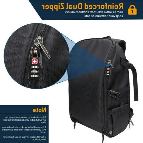 Waterproof Large Camera Backpack Shoulder Filter Pack