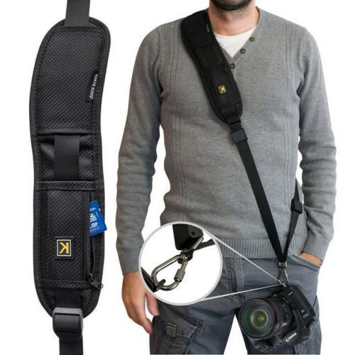 black single shoulder sling belt