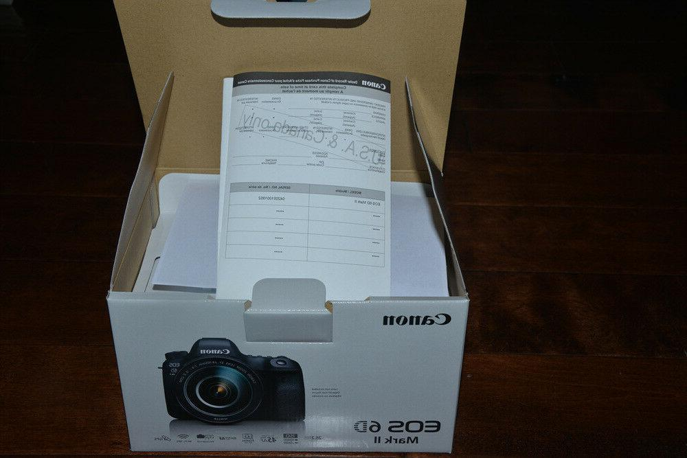 BRAND NEW 6D Mark Digital SLR Camera Body