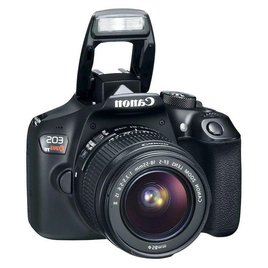 brand REBEL T6 18-55mm lens camera