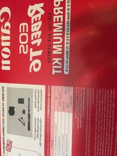 BRAND T6 Kit & 75-300mm, bag
