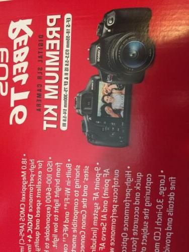 BRAND NEW T6 Camera Kit w/ 18-55 &