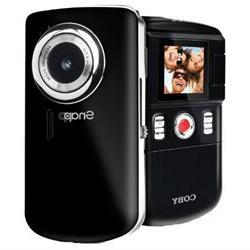 COBY CAM3001BLK 1.3 Megapixel Snapp  Mini Camcorder