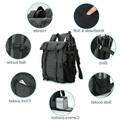 Camera Backpack for Canon DSLR