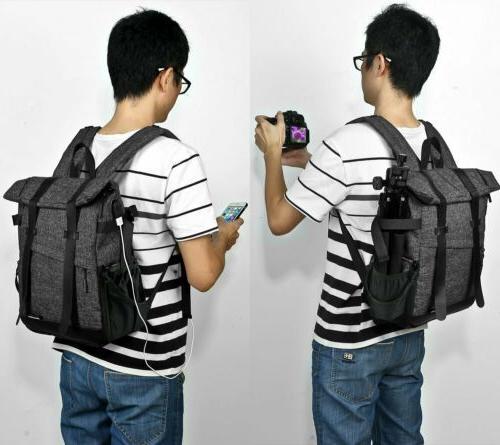 Camera Backpack Bag Charge for Nikon DSLR