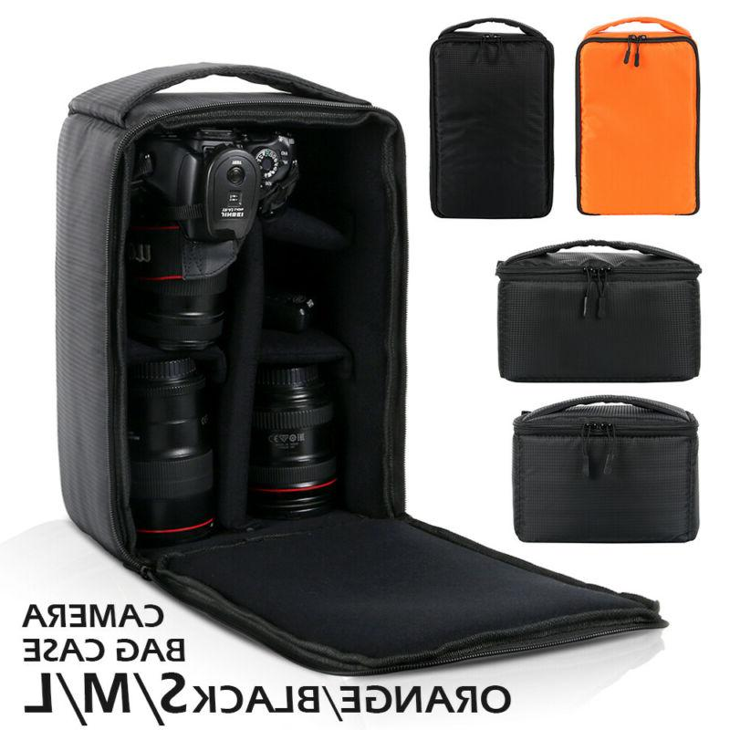 Camera DSLR Bag Backpack SLR Shoulder Soft Case Waterproof f