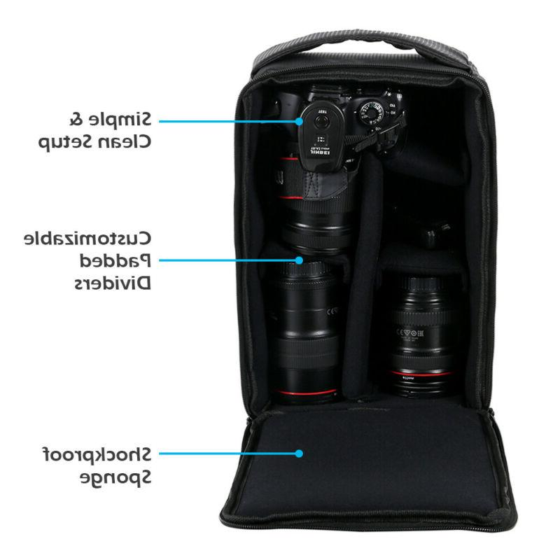 Camera SLR Soft Case Waterproof for Canon Sony