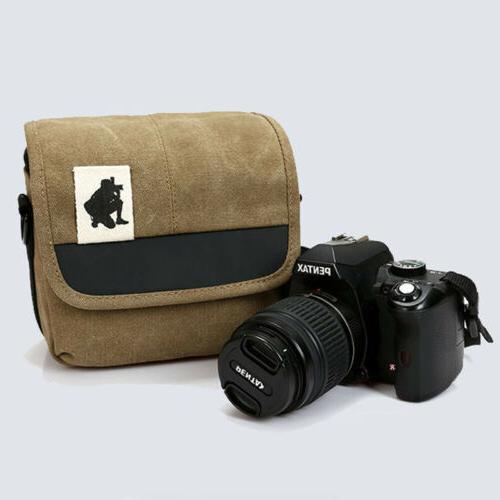 camera case bag canvas for pentax dslr