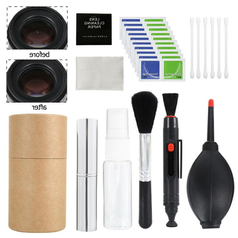camera cleaning kit lements digital optical dslr