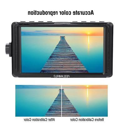 Camera HDMI 5 IPS 4K for DSLR