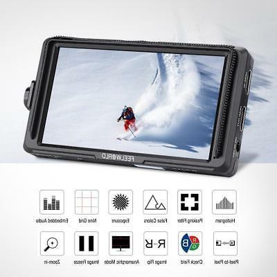 Feelword HDMI IPS Screen Full Monitor Camera Monitor