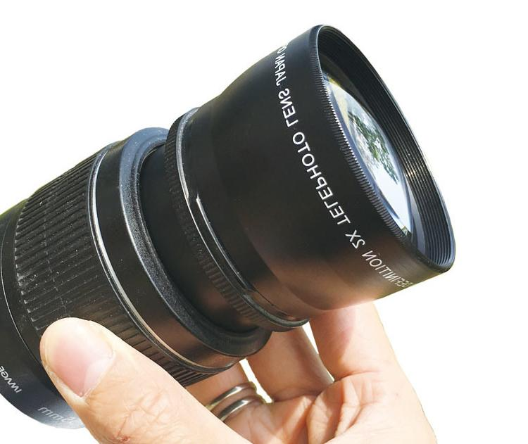 Camera Lens Extended