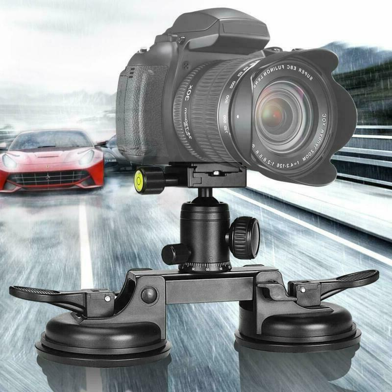 Camera Suction Cup Mount Professional & Powerful DSLR