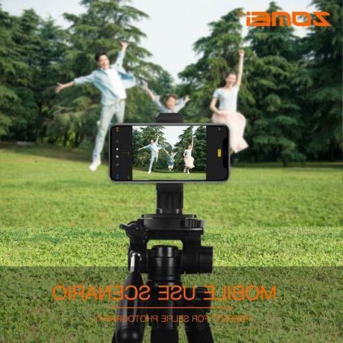 ZOMEI Camera Tripod 55''Compact stand DSLR