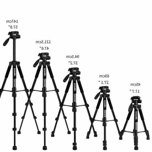 ZOMEI Camera 55''Compact Light Weight stand DSLR