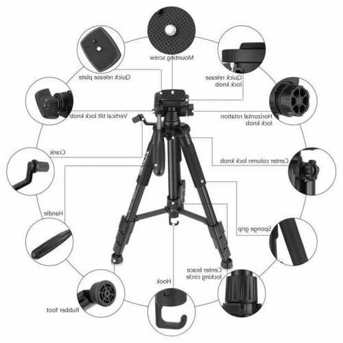 ZOMEI Camera 55''Compact Weight stand for DV
