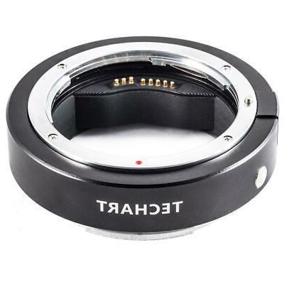 Techart PRO Canon EF Lens to Fujifilm GFX Camera Autofocus S