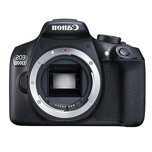 Canon EOS 1300D/T6 18MP Digital 18-55mm Bundle