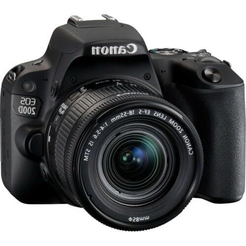 canon eos 200d sl2 dslr camera w