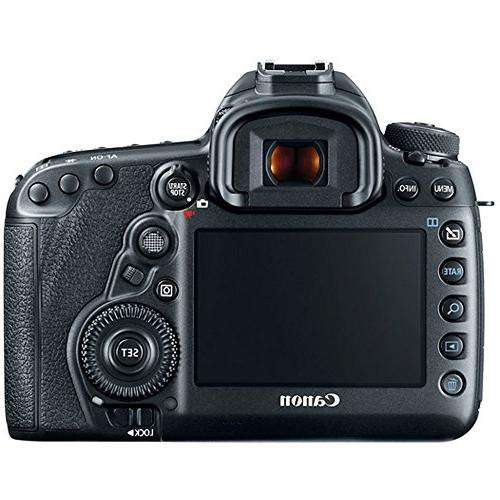Canon IV 30.4 MP Frame CMOS Camera Body F4-5.6 Lens EF Prime Wide Telephoto Bundle
