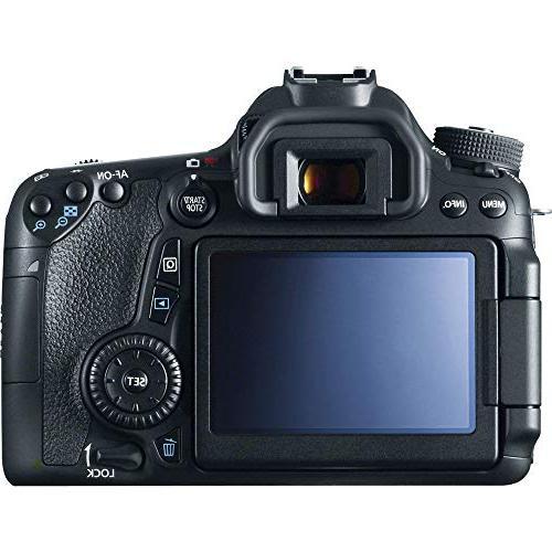 "Canon EOS Camera: with EF-S is STM + 32GB 1200x 50"" Tripod, Bag, Blower, LP-E6, AOM Bundle International"