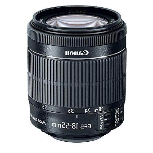 """Canon is STM 32GB SDXC 50"""" Bag, Lens Dust Blower, LP-E6, LC-E6 AOM Bundle International Version"""